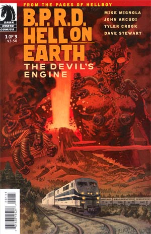 BPRD Hell On Earth Devils Engine #1