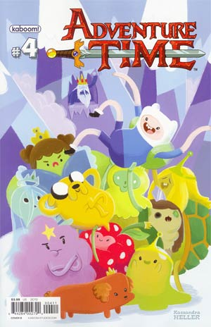 Adventure Time #4 Cover B Regular Cover