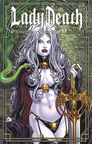 Lady Death Vol 3 #17 Sultry Cover