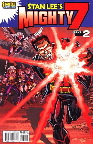 Stan Lees Mighty 7 #2 Cover A Regular Alex Saviuk Cover