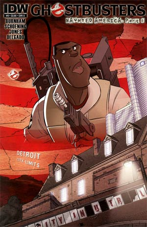 Ghostbusters #9 Regular Dan Schoening Cover