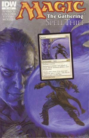 Magic The Gathering Spell Thief #1 Cover A Regular Christopher Moeller Cover