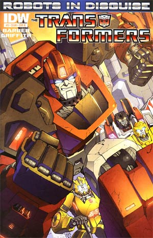 Transformers Robots In Disguise #5 Regular Cover B