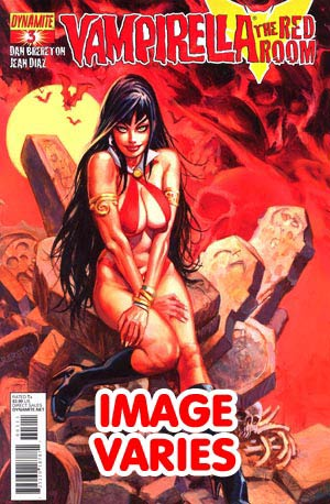 DO NOT USE Vampirella Red Room #3 (Filled Randomly With 1 Of 3 Covers)