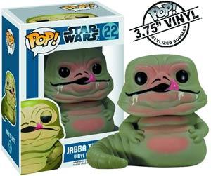 POP Star Wars 22 Jabba The Hutt Vinyl Bobble Head