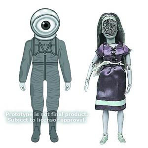 Twilight Zone 8-Inch Series 7 Action Figure Assortment Case