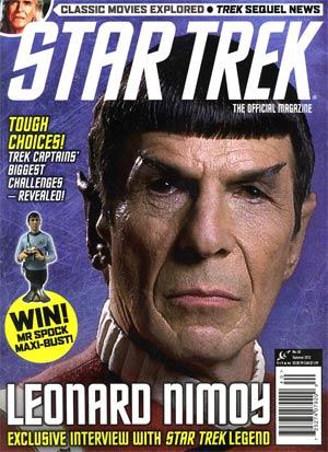 Star Trek Magazine #40 Summer 2012 Newsstand Edition
