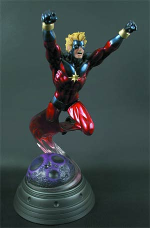 Captain Marvel Statue By Bowen