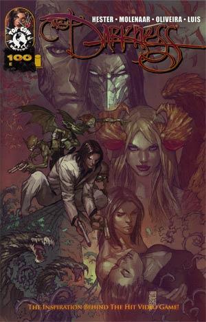 Darkness Vol 3 #100 Cover E Incentive Marc Silvestri Stjepan Sejic