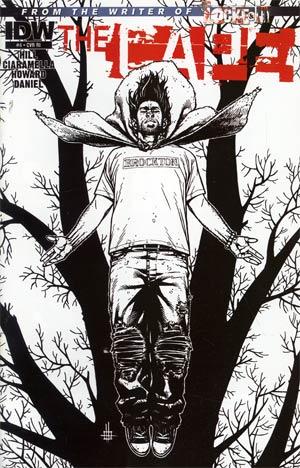 Joe Hills The Cape #4 Cover C Incentive Zach Howard Sketch Cover