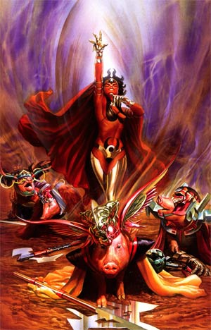 Kirby Genesis Dragonsbane #2 Cover B Incentive Alex Ross Virgin Cover
