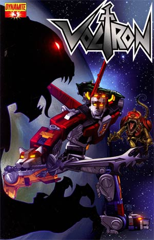 Voltron #3 Cover B Regular Sean Chen Cover