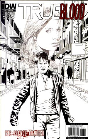 True Blood French Quarter #6 Incentive Joe Corroney Sketch Cover