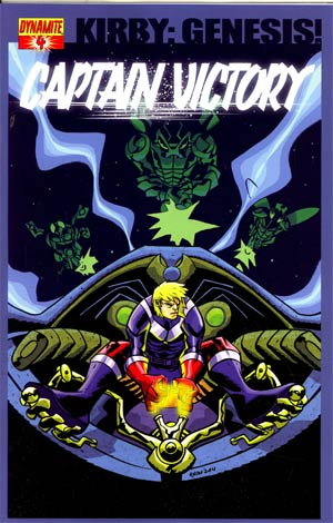 Kirby Genesis Captain Victory #4 Cover B Regular Michael Avon Oeming Cover