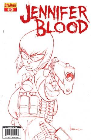 Garth Ennis Jennifer Blood #5 Reorder Cover