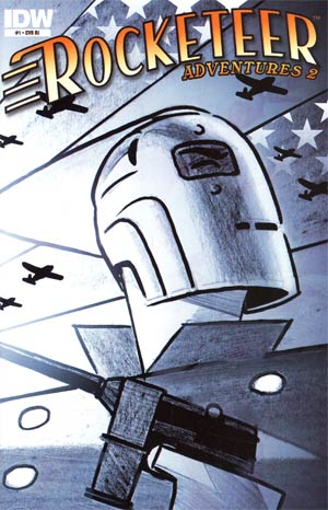 Rocketeer Adventures 2 #1 Cover C Incentive Darwyn Cooke Sketch Cover