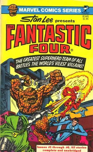 Fantastic Four Pocket Books Novel-Sized GN