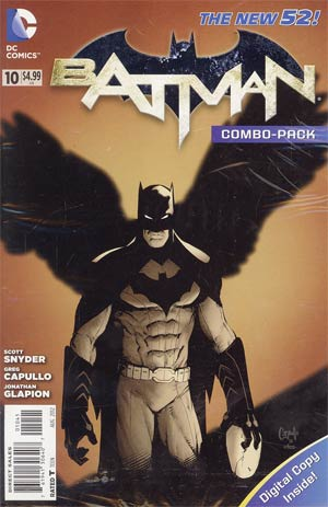 Batman Vol 2 #10 Cover C Combo Pack With Polybag