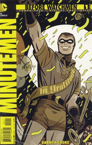 Before Watchmen Minutemen #1 Cover C Combo Pack With Polybag
