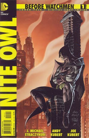 Before Watchmen Nite Owl #1 Cover C Combo Pack With Polybag