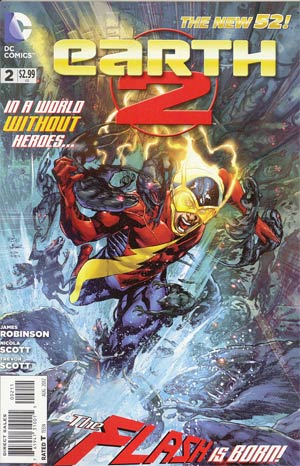 Earth 2 #2 1st Ptg Regular Ivan Reis Cover