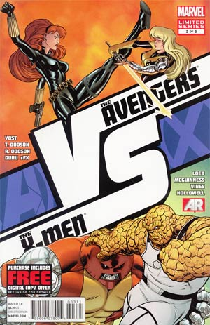 AVX VS #3 Cover A Regular Ed McGuinness Cover (Avengers vs X-Men Tie-In)