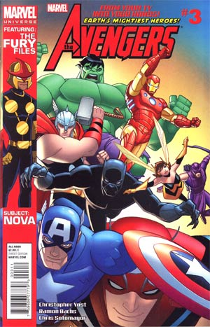 Marvel Universe Avengers Earths Mightiest Heroes #3