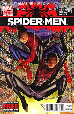 Spider-Men #1 Cover A 1st Ptg Regular Jim Cheung Cover