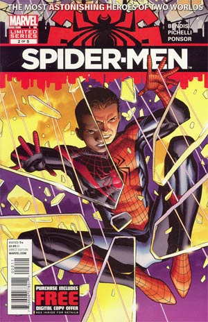 Spider-Men #2 Cover A Regular Jim Cheung Cover