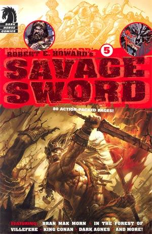 Robert E Howards Savage Sword #5