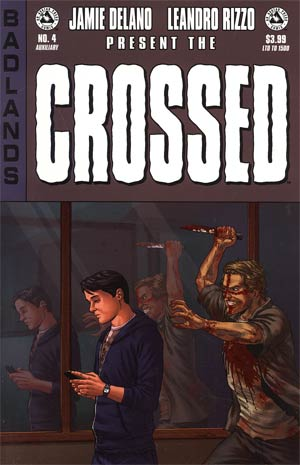 Crossed Badlands #4 Auxiliary Edition