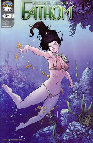 Fathom Vol 4 #7 Cover B Pasquale Qualano Cover