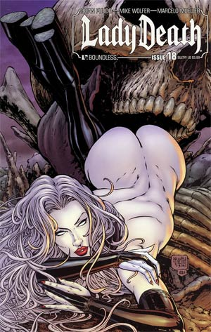 Lady Death Vol 3 #18 Sultry Cover