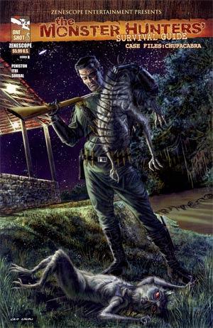 Monster Hunters Survival Guide Case Files Chupacabra Cover B Caio Cacau