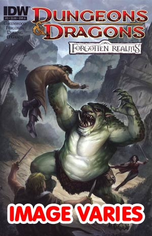 DO NOT USE Dungeons & Dragons Forgotten Realms #3 Regular Cover (Filled Randomly With 1 Of 2 Covers)