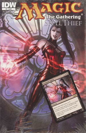 Magic The Gathering Spell Thief #2 Cover A Regular Dan Scott Cover