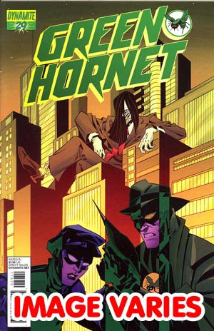 DO NOT USE Kevin Smiths Green Hornet #29 (Filled Randomly With 1 Of 2 Covers)