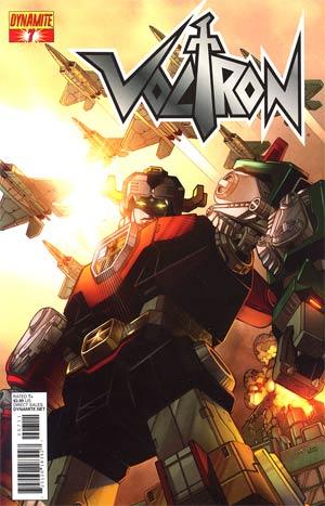 Voltron #7 Cover A Regular Sean Chen Cover