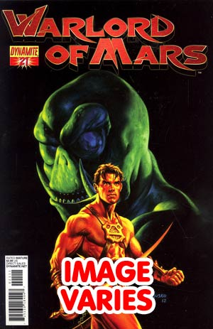 DO NOT USE Warlord Of Mars #21 Regular Cover (Filled Randomly With 1 Of 2 Covers)