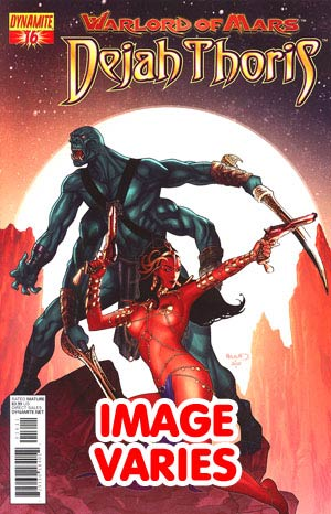 DO NOT USE Warlord Of Mars Dejah Thoris #16 Regular Cover (Filled Randomly With 1 Of 2 Covers)