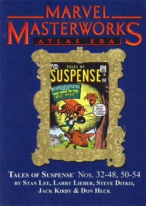 Marvel Masterworks Atlas Era Tales Of Suspense Vol 4 HC Variant Dust Jacket
