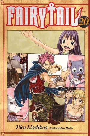 Fairy Tail Vol 20 GN