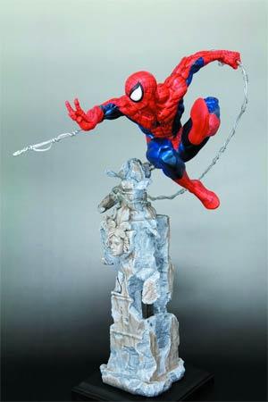 Amazing Spider-Man Spider-Man Unleashed Fine Art Statue