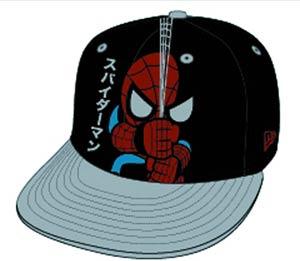 Marvel x tokidoki Japanese Spidey Snapback Cap