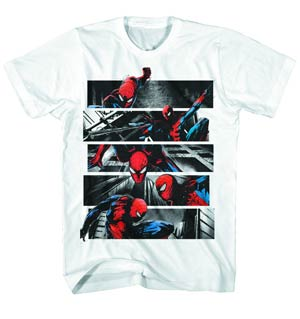 Spider-Man Spidey Night Charcoal T-Shirt Large