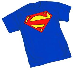 Superman 52.2 Symbol T-Shirt Large