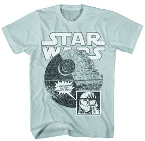 Star Wars Star Friends Silver T-Shirt Large
