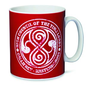 Doctor Who High Council Of The Timelords Mug