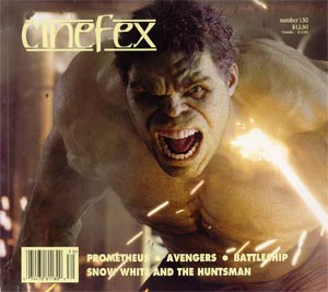 Cinefex #130 Jul 2012