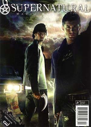 Supernatural Magazine #33 Jul 2012 Previews Exclusive Edition